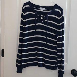 Navy stripe Ole Navy sweater (M) NWT